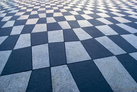 Decorative pavement background photo