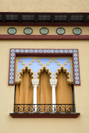 Andalusia, Spain. Window in arabian style photo