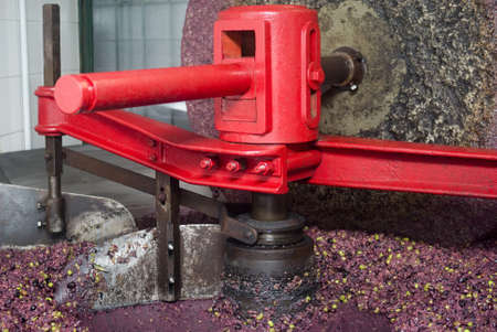 millstone: The millstone for grinding