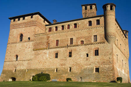 Piedmont, Italy – October 20, 2010: Castle of Grinzane Cavour