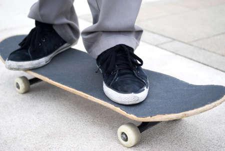 Boy skateboarding Stock Photo - 19112963