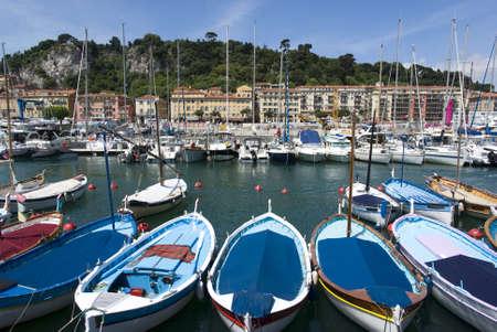 Port of Nice, France photo