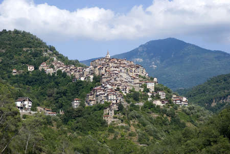 Apricale  Ancient village of Italy photo