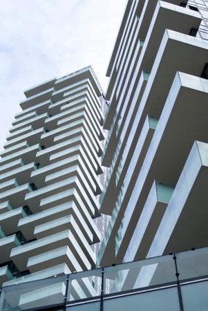 Modern condominium complex in Milan