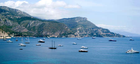 ail: Bay of Villefranche, French Riviera Stock Photo