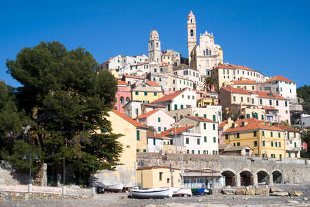 Cervo - Medieval village in Liguria region of Italy photo