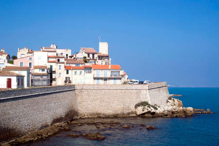 french riviera: Antibes, French Riviera Stock Photo