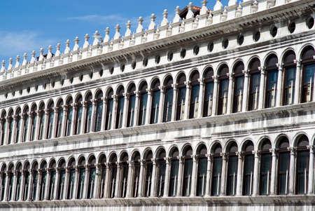 st  mark s: Venezia Edifici in Piazza San Marco s Archivio Fotografico