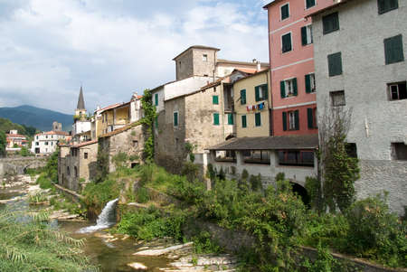 Borgomaro - The ancient village in Liguria region of Italy photo