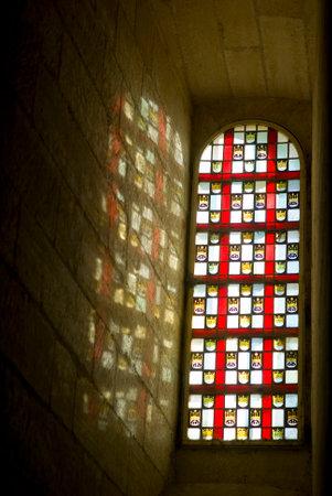 stained glass window: Stained glass window