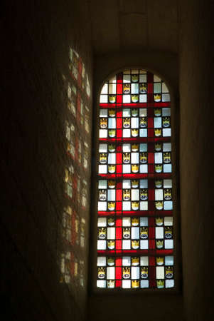 obscurity: Stained glass window