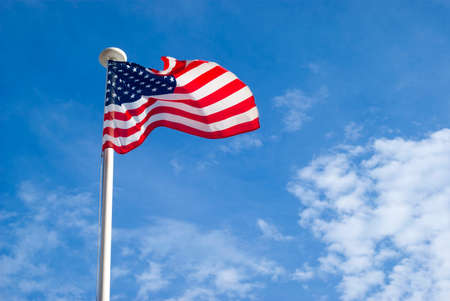 Flag of the United States of America photo
