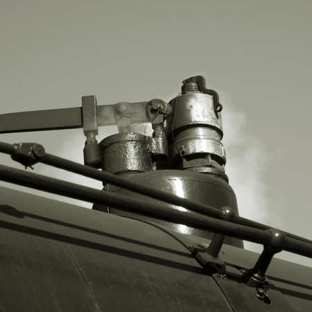 exhaust system: The steam locomotive exhaust system