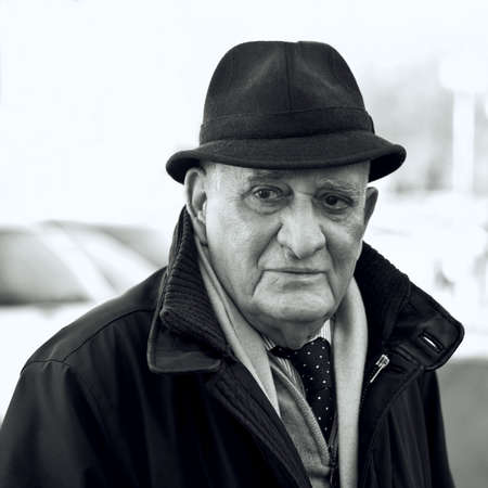 Senior man 80 years, Portrait Stok Fotoğraf