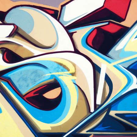 grafitis: Grafiti Foto de archivo