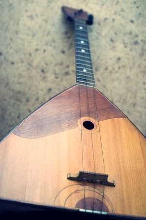 traditionally russian: Balalaika