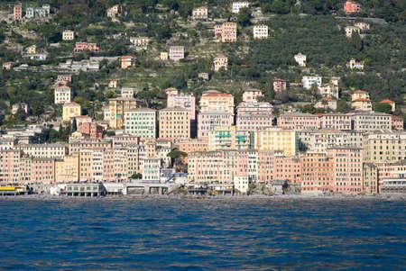 riviera: Camogli, Italian Riviera Stock Photo