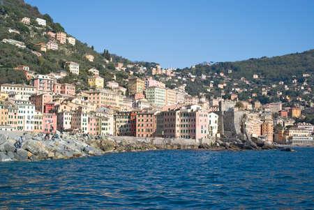 stereotypical: Camogli, Italian Riviera Stock Photo