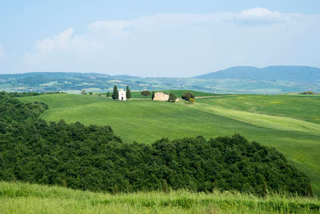 san quirico: Countryside San Quirico Orcia  Tuscany Italy