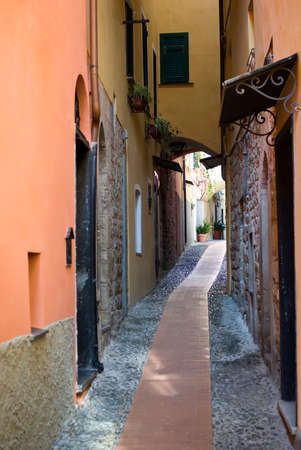 typical: Typical Italian narrow street Stock Photo