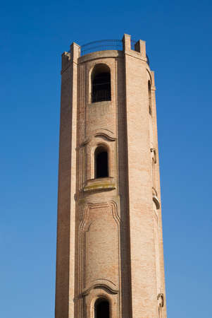 bell tower: Italy, Comacchio. Bell Tower of The Cathedral