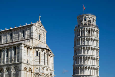 leaning tower of pisa: The Leaning Tower and Cathedral of Pisa