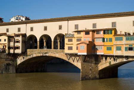 ponte vecchio: Florence. The Ponte Vecchio Bridge