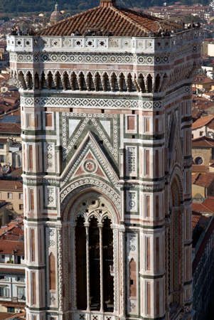 campanile: Bell tower of Florence Cathedral