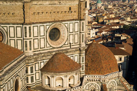 unesco: The Duomo, Florence Cathedral, a UNESCO World Heritage Site Stock Photo