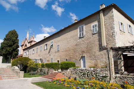 franciscan: Franciscan church and monastery of Cimiez. Nice France