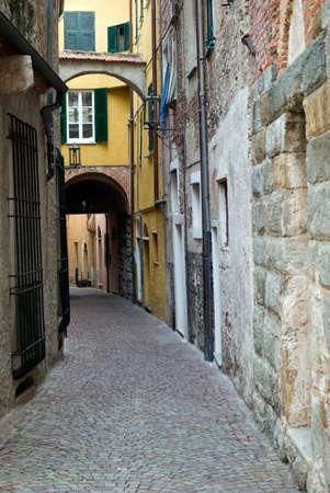 Typical Italian narrow street Stock Photo