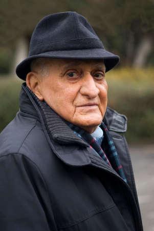 70 80 years: Senior man 80 years, Portrait Stock Photo