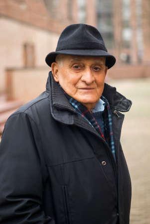 70 80 years: Senior Portrait Stock Photo
