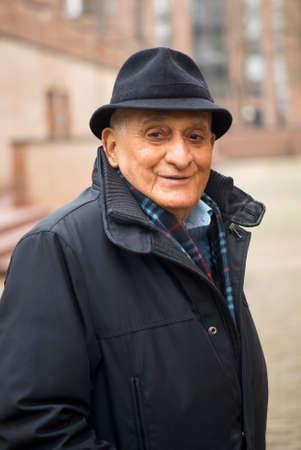 70 80 years: Smiling senior portrait
