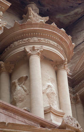 nabatean: Particular the Treasury or Al Khazneh building at Petra, Jordan