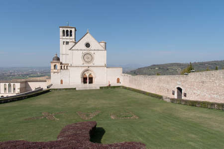 of assisi: Papal Basilica of Saint Francis of Assisi, Italy