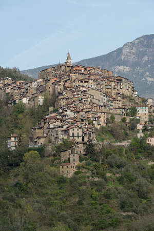 Apricale - The ancient village in Liguria region of Italy