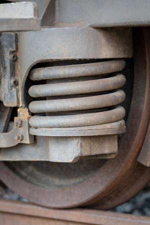 Rusty old train details Zdjęcie Seryjne - 122718246