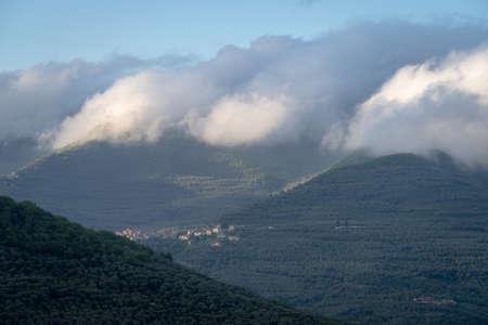 Ligurian Alps, Province of Imperia, Liguria region, Italy 写真素材