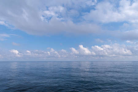 Clouds over the Mediterranean Sea - Ligurian Sea, Liguria, Italy