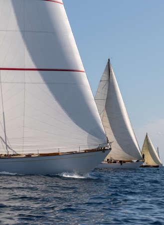 Regatta of historical boats Zdjęcie Seryjne