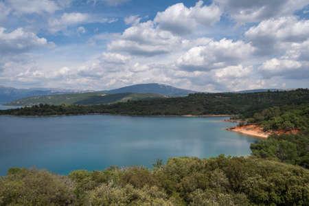 Lake of Sainte-Croix, Verdon Natural Regional Park, Provence, France