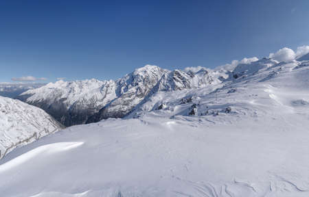 Ortler Alps mountain range of the Southern Rhaetian Alps mountain group, Italy