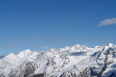 Southern Rhaetian Alps, A view of the Ortles Cevedale mountain range, Stelvio National Park, Italy