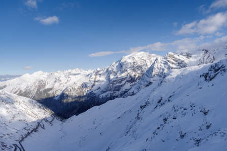 Ortler Alps from the Stelvio Pass, Italy
