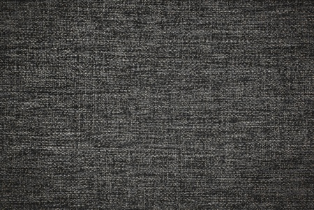 Dark grey fabric texture as background