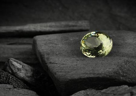 darck: jewelry gem on darck background