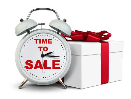 ギフト時計、時間を白の販売コンセプト