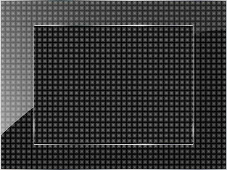 Glass framework on black background. Vector illustration. Stock Vector - 11963339