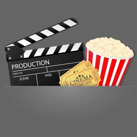 Cinema background Stock Vector - 17127209